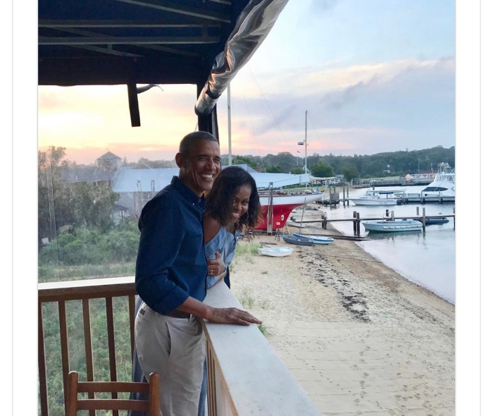 Michelle Obama Reveals How Her & Barack's Marriage Improved Since Malia, 21, & Sasha, 18, MovedOut…