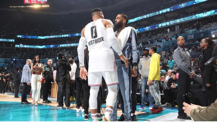 Russell Westbrook and James Harden Reveal Nipsey Hussle Planned to Start a SportsAgency